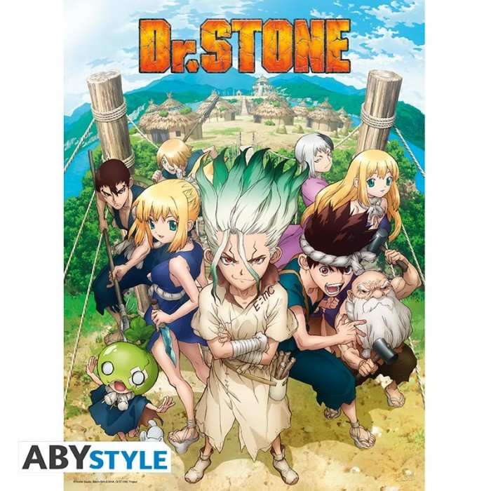 Dr. Stone - Poster - Groupe