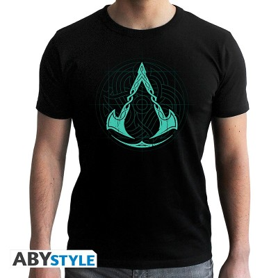 T-shirt - Assassin's Creed - Valhalla Crest - S Homme