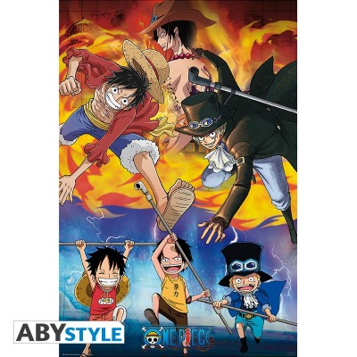 One Piece - Poster - Ace Sabo Luffy