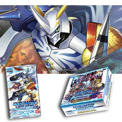Digimon - Booster - Playing cards