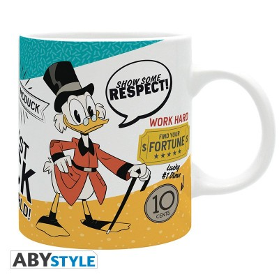 Mickey mouse - Mug cup - Ducktales Picsou