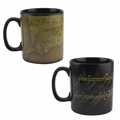 Lord of the Rings - Thermal - Mug cup - Map