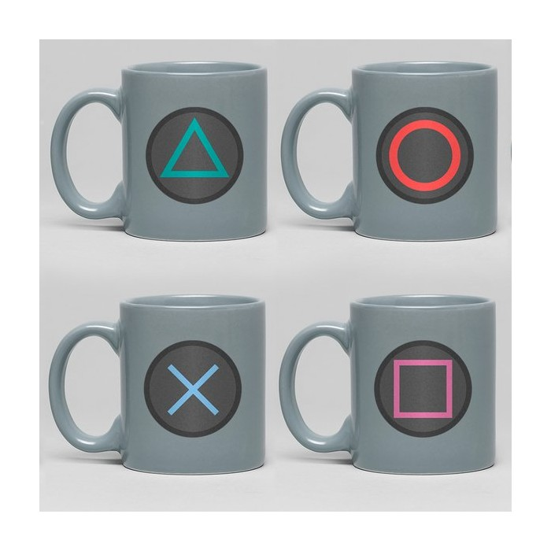 Playstation - Mug cup - Buttons