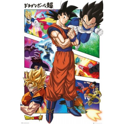 Poster - Dragon Ball Super - Panels