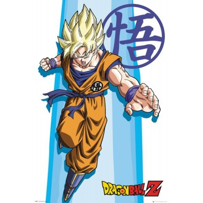 Poster - Dragon Ball Z - SS Goku