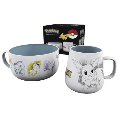 Breakfast Set - Pokemon - Evoli
