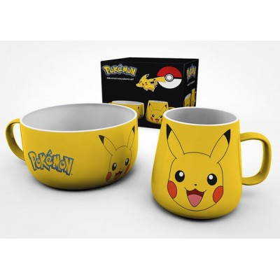 Breakfast Set - Pokemon - Pikachu