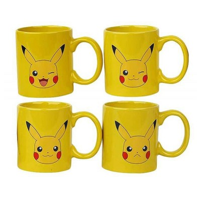 Set de 4 - Mini Mug - Pokemon - Pikachu