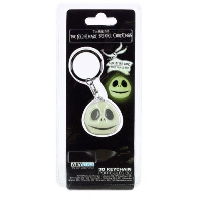 "Porte-Clef 3D ""Jack"" - Glow in the dark - NBX"