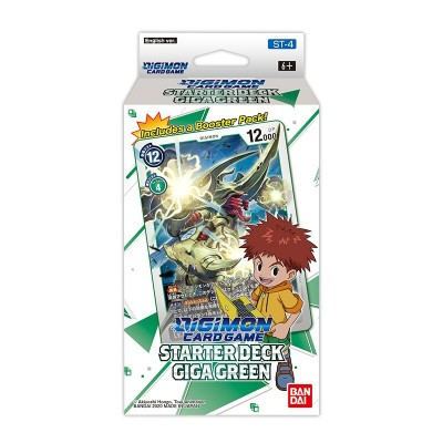 Digimon - Booster - Playing cards - Giga Green