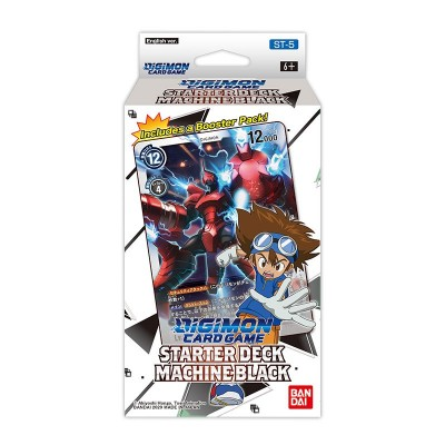 Digimon - Booster - Playing cards - Machine Black