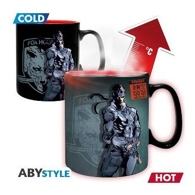 Mug Thermo Réactif - Solid Snake - Metal Gear Solid