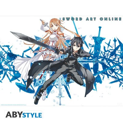 Poster - Sword Art Online - Membres Groupe