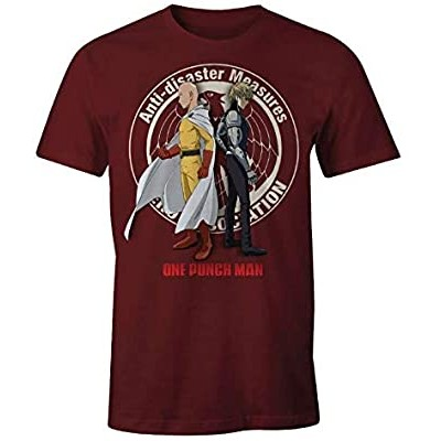 T-shirt One Punch Man - Anti-Disaster Measures - M
