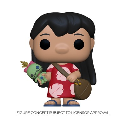 Lilo w/ Scrump - Lilo et Stitch (1043) - POP Disney