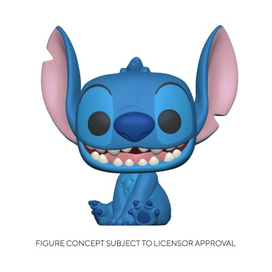 Smiling Seated Stitch - Lilo et Stitch (1045) - POP Disney