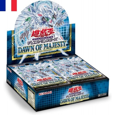 "JCC - Booster ""Dawn of Majesty"" - Yu-Gi-Oh! (FR) (24 boosters)"