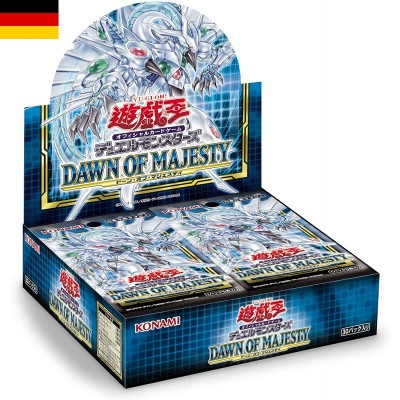 "JCC - Booster ""Dawn of Majesty"" - Yu-Gi-Oh! (DE) (24 boosters)"