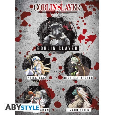 Poster - Goblin Slayer - Personnages