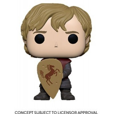 Tyrion w/Shield - Game of Thrones (...) - Pop TV