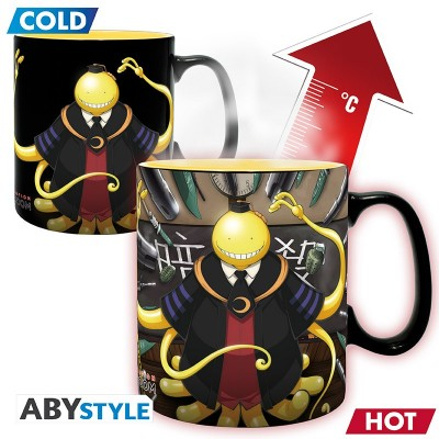 Mug Thermo Réactif - Koro attaqué - Assassination Classroom