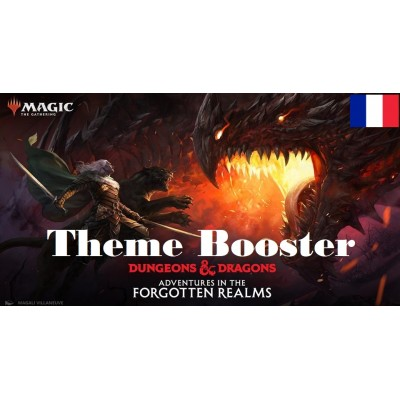 MTG - Theme Booster (6) - Adventures in the Forgotten Realms - FR