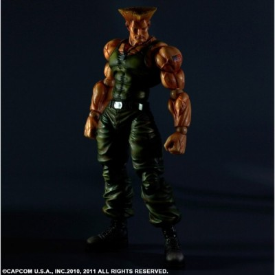 Guile - Street Fighter - Play Arts