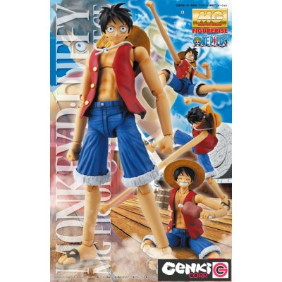 Maquette - MG Figure Rise - One Piece - Monkey D. Luffy