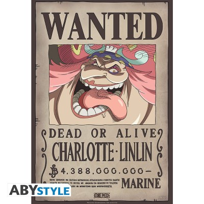 One Piece - Poster - Wanted Charlotte Linlin