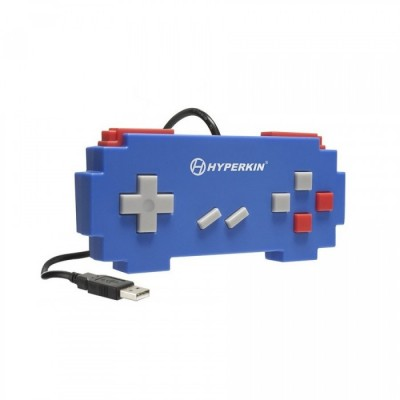 Manette Super Nintendo USB - Pixel Art (Bleue)
