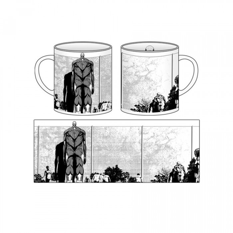 Attack on Titan - Mug cup
