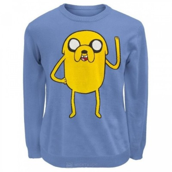 Pull Jake - Adventure Time - Fond Bleu - S
