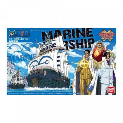 One Piece - The Navy Warship (Maquette taille 1 : 13Cm) - Grand Ship Collection