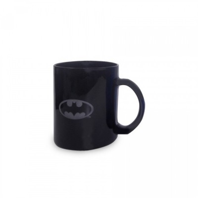 Mug transparent noir - Batman - Logo