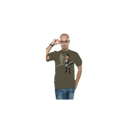 T-shirt Neko - Eren et Logo Bataillon - Attack On Titan - L