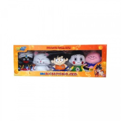Peluches Dragon Ball - Assortiment des 5 - 16 CM