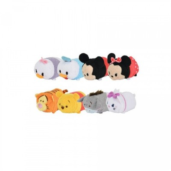 Diverses Peluches Disney Tsum Tsum - 9cm (vendues par 8 au hasard)