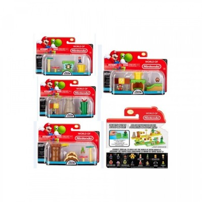 Nintendo - Micro Playset - Pack Série 1 collection de 4